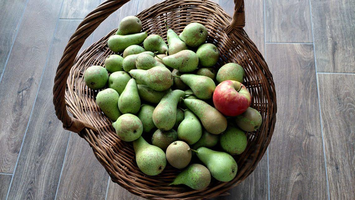 Peren en appel oogst 2020